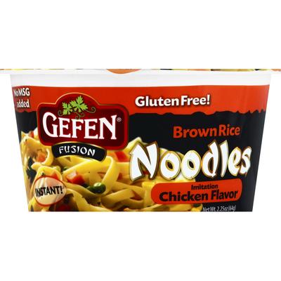 Gefen Noodles, Brown Rice, Imitation Chicken Flavor