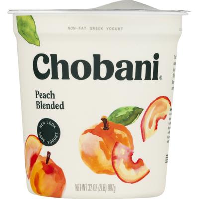 Chobani Non-Fat Greek Yogurt Peach