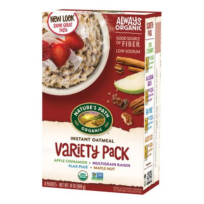 Nature's Path Instant Oatmeal Variety Pack