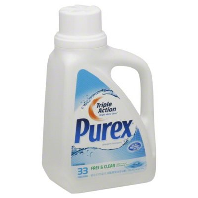 Purex Liquid Detergents Free & Clear Laundry Detergent