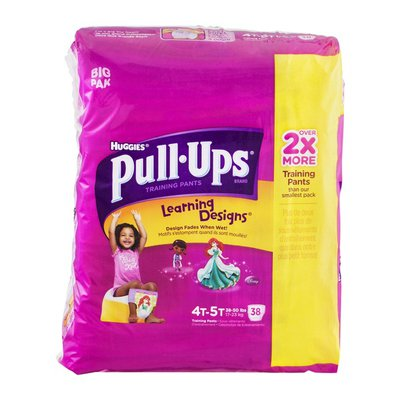 Pull-Ups With Learning Designs for Girls 4T-5T Training Pants