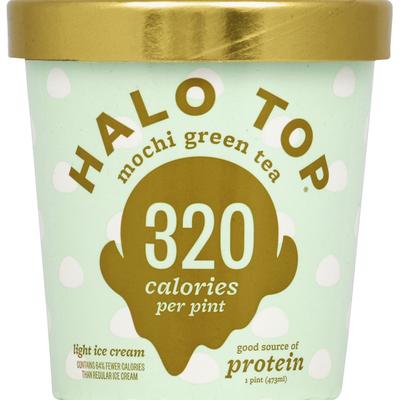 Halo Top Creamy Mochi Green Tea Ice Cream