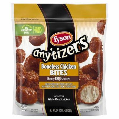 Tyson Any'tizers Honey BBQ Boneless Chicken Bites