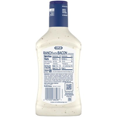 Kraft Ranch Salad Dressing with Bacon