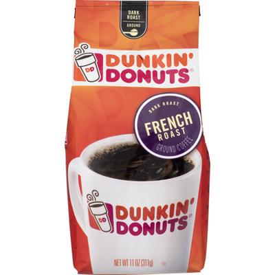 Dunkin' Donuts Coffee, Ground, Dark Roast, French Roast