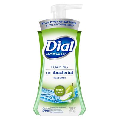 Dial Complete Antibacterial Foaming Hand Wash, Fresh Pear
