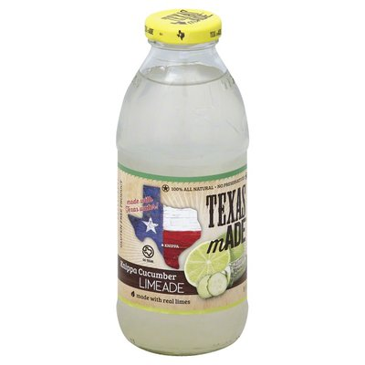 Texas Made Limeade, Knippa Cucumber