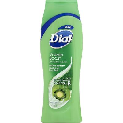 Dial Body Wash, Moisturizing, Vitamin Boost