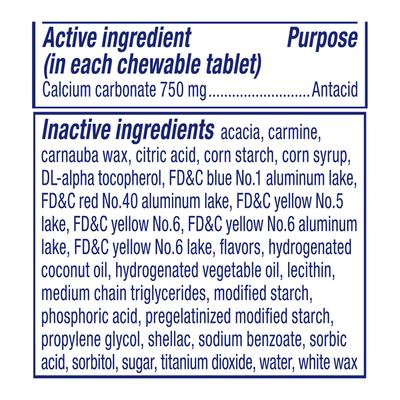 Alka-Seltzer Heartburn Relief Chews, Extra Strength, Assorted Fruit