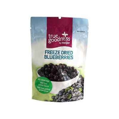 Meijer True Goodness Freeze Dried Blueberries