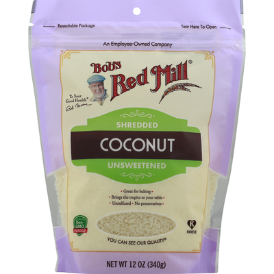 Bob's Red Mill Shredded Coconut, Unsweetened