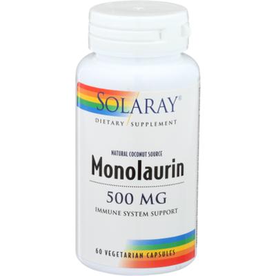 Solaray Monolaurin, 500 mg, Vegcaps
