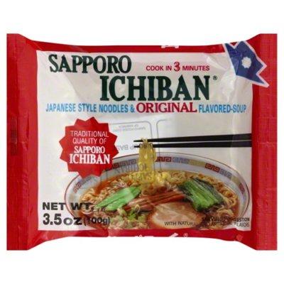 Sapporo Ichiban Ichiban Japanese Style Noodles & Original Flavored Soup