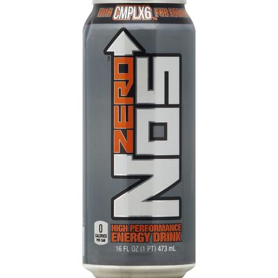Nos Energy Drink, High Performance