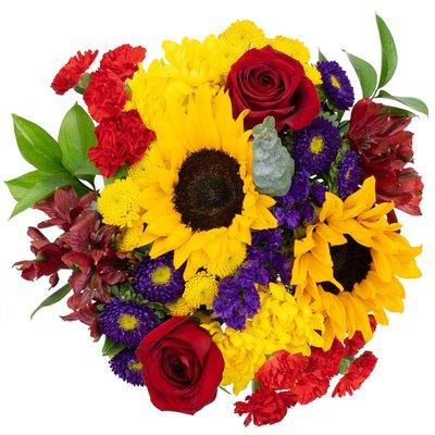 Premium Mixed Floral Bouquet, Assorted Varieties