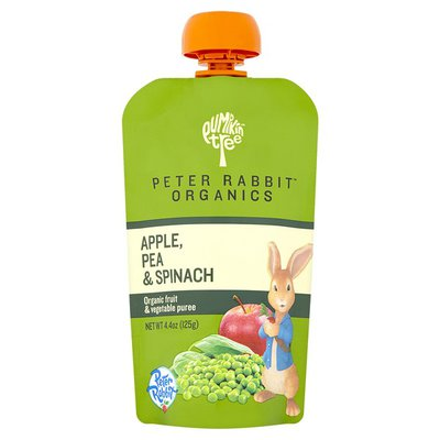 Peter Rabbit Organics Apple, Pea & Spinach