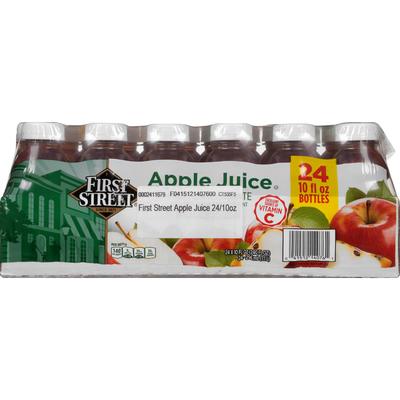 First Street 100% Juice, Apple