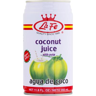 La Fe Coconut Juice with Pulp