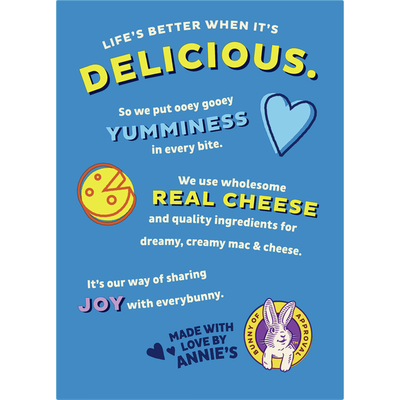 Annie's Classic Mild Cheddar Macaroni and Cheese, Family Size