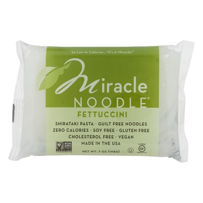 Miracle Noodle Zero Net Carb, Gluten Free Shirataki Pasta, Fettuccini