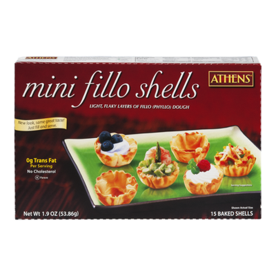 Athenos Phyllo Shells, Baked