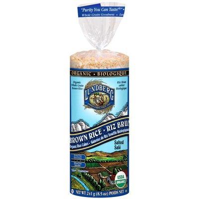 Lundberg Family Farms Organic Brown Rice Rice Cakes