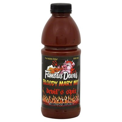 Famous Daves Bloody Mary Mix, Devil's Spit