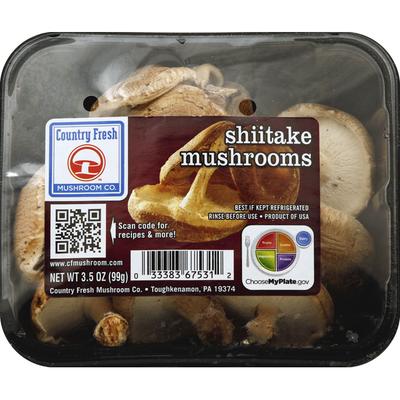 Country Fresh Mushroom Shiitake Mushrooms