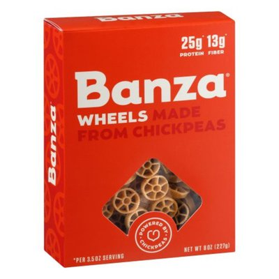 Banza Wheels, Made from Chickpeas