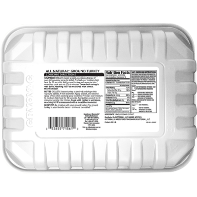 Butterball All Natural Ground Turkey