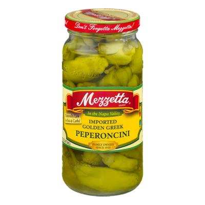 Mezzetta Peperoncini, Golden Greek, Medium Heat