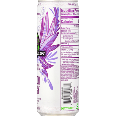 Sambazon Energy Drink, Low Calorie, Acai Berry Pomegranate