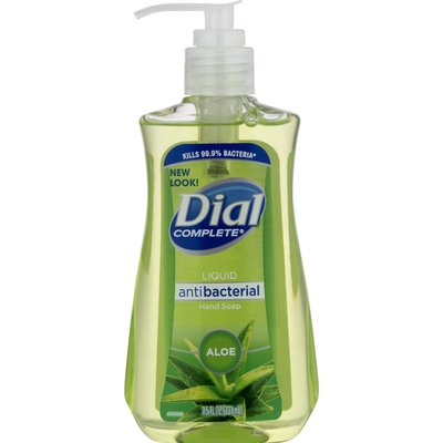 Dial Antibacterial Liquid Hand Soap, Aloe