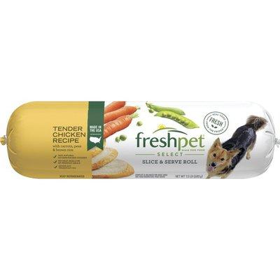 Freshpet Tender Chicken Recipe Slice & Serve Roll Freshpet Healthy & Natural Dog Food, Fresh Chicken Roll