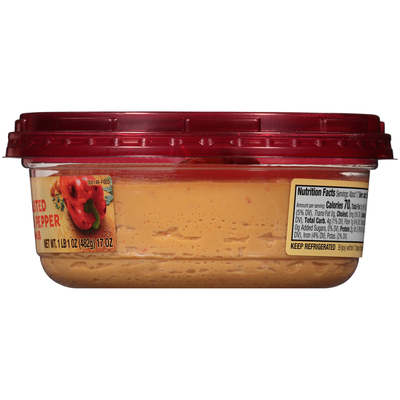 Sabra Family Size Roasted Red Pepper Hummus