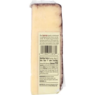Sartori Cheese Merlot Bellavitano