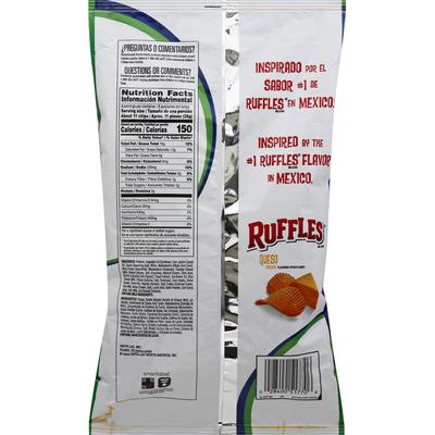 Ruffles Queso Potato Chips