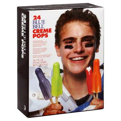 Blue Bell Creme Pops