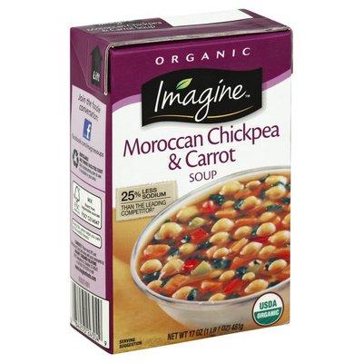 Imagine Soup, Moroccan Chickpea & Carrot