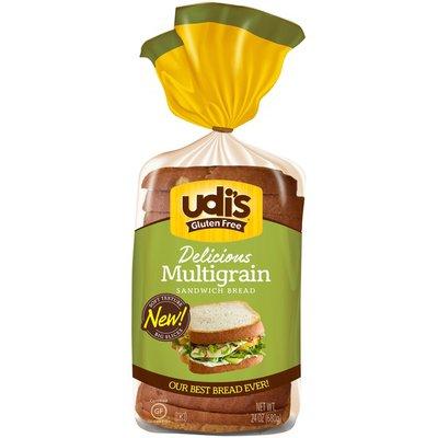 Udi's Gluten Free Whole Grain Bread