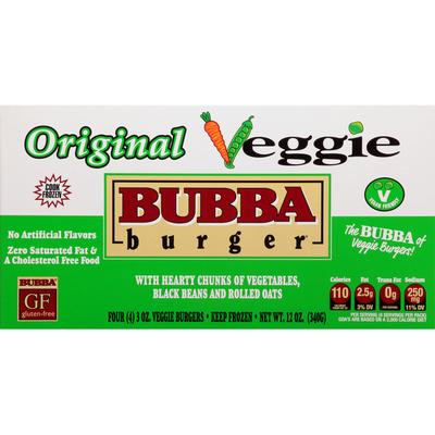 Bubba Burger Original Veggie Burgers