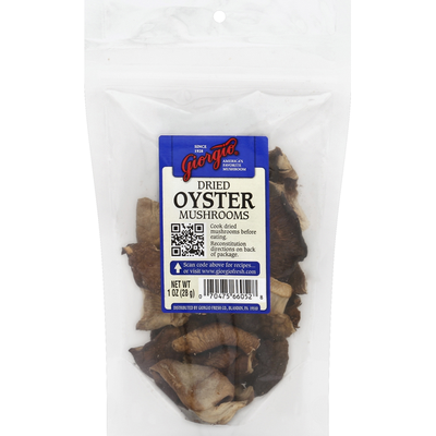 Giorgio Mushrooms, Oyster, Dried