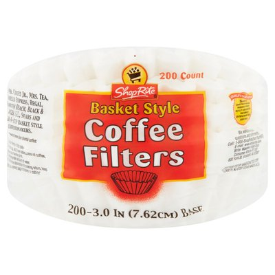 ShopRite Basket Style Coffee Filters
