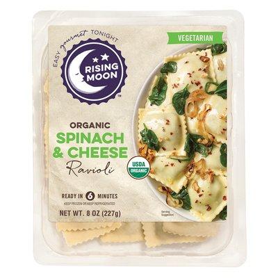 Rising Moon Organic Spinach and Cheese Ravioli