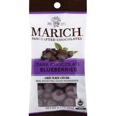 Marich Dark Chocolate, Blueberries