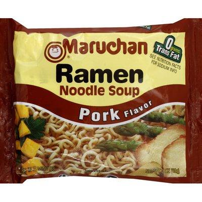 Maruchan Ramen Noodle Soup, Pork Flavor