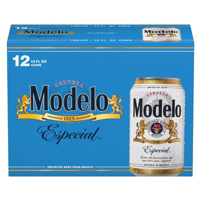 Modelo Especial Mexican Lager Beer Cans