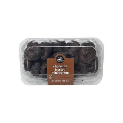Bake Shop Chocolate Frosted Mini Donuts
