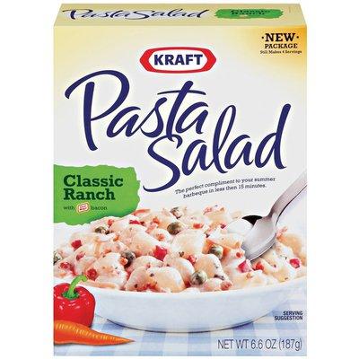 Kraft Pasta Salad Classic Ranch with Bacon Pasta Salad