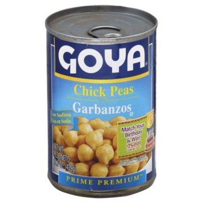 Goya Low Sodium Chick Peas